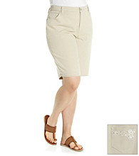 Gloria Vanderbilt® Plus Size Bermuda Denim Shorts