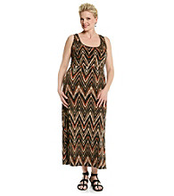 Notations® Plus Size Maxi Dress