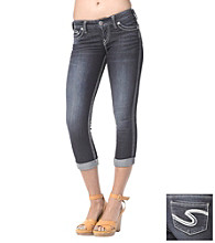 Silver Jeans Co. Frances Straight Fit Low-Rise Capri Jeans