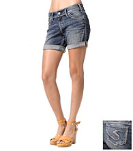 Silver Jeans Co. Suki Curvy Fit Mid-Rise Shorts