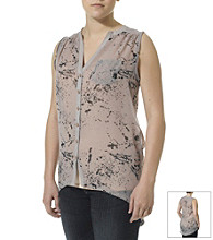Silver Jeans Co. Paint Splatter Tunic