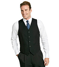 Geoffrey Beene® Men's Black Solid Vest