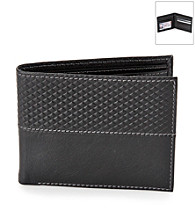 Kenneth Roberts Platinum® Men's Argyle Bifold Leather Wallet