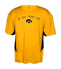 J. America® Men's Gold University of Iowa Performance Tee