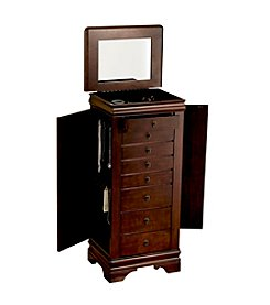 Powell® Louis Philippe Marquis Cherry Jewelry Armoire