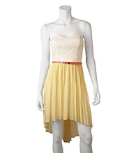 A. Byer Juniors' Strapless Dress