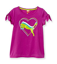 PUMA® Girls' 7-16 Purple Heart Tee