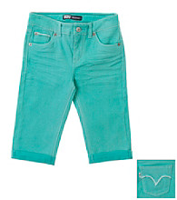 Levi's® Girls' 7-16 Spring Green Fade Skimmer Shorts