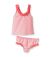 Carter's® Baby Girls' Coral 2-pc. Striped Swimsuit