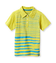 Calvin Klein Jeans® Boys' 8-20 Yellow Short Sleeve Painterly Polo