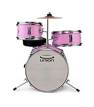 Union UT3 3-pc. Pink Toy Drum Set with Cymbal and Throne