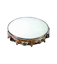 Union Wood Tunable Single-Row Tambourine