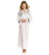 Linea Donatella® Long Robe - Palace Paisley Blush