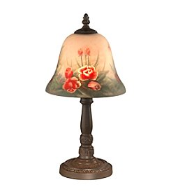Dale Tiffany Rose Bell Accent Table Lamp
