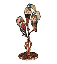 Dale Tiffany Three Parrots Table Lamp