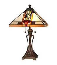 Dale Tiffany Natalie Mission Table Lamp