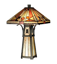 Dale Tiffany Mission Shade & Base Table Lamp