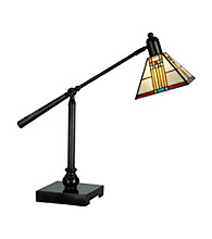Dale Tiffany Mission Bank Table Lamp