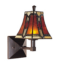 Dale Tiffany Kenelm Wall Sconce Lamp