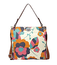 Fossil® Hunter Floral Hobo