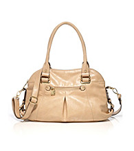 AK Anne Klein® Sand Trinity Medium Satchel