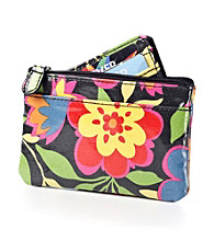 Relativity® Card, Key & Coin Wallet - Bright Floral