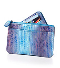 Relativity® Card, Key & Coin Wallet - Blue Ombre