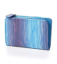 Relativity® Credit Card Pouch - Blue Ombre