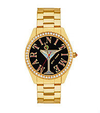 Betsey Johnson® Martini Time Dial Watch