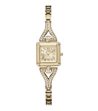Guess Goldtone Petite Retro Glamour Watch