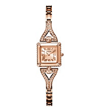 Guess Rose Goldtone Petite Retro Glamour Watch