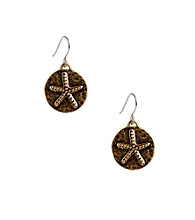 Lucky Brand® Goldtone Novelty Earrings