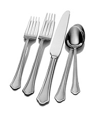 Pfaltzgraff Capri Frost 53-pc. Flatware Set