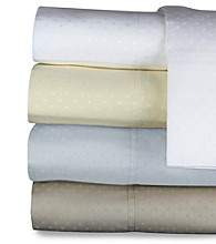 Venus Home Fashions 400-Thread Count Swiss Dot Sheet Set