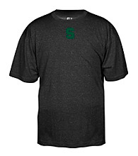 J. America® Men's Black Michigan State Heathered Performance Tee
