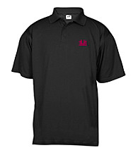 J. America® Men's Black University of Montana Mesh Performance Polo