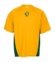 J. America® Men's Gold North Dakota State University Mesh Performance Tee