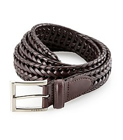 Fossil® Men's Myles Leather Braid Belt