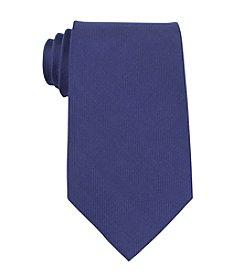Kenneth Cole REACTION® Men's Blue Darien Solid Silk Tie