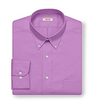 Izod® Men's Rasinberry Long Sleeve Twill Dress Shirt