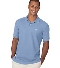 Chaps® Men's Short Sleeve Solid Pique Polo
