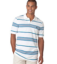 Chaps® Men's Short Sleeve Savannah Blanket Stripe Polo