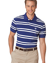 Chaps® Men's Dockside Blue Georgetown Custom Fit Stripe Polo