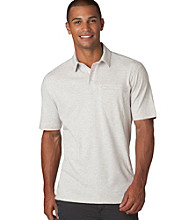 Chaps® Men's Silver Birch Short Sleeve Explorer Hidden Polo