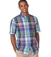 Chaps® Men's Island View Long Sleeve Dockside Plaid Woven Shirt