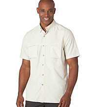 Chaps® Men's Silver Birch Solid Explorer Woven Shirt