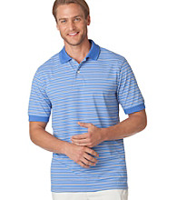 Chaps® Men's Sea Breeze Short Sleeve Multi Stripe Polo