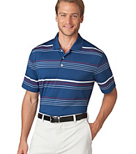 Chaps® Men's Estate Blue Coastal Stripe Golf Polo