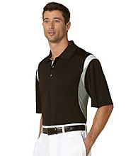 PGA TOUR® Men's Caviar Three Color Stacked Polo
