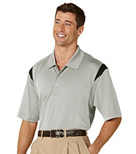 PGA TOUR® Men's Sandbar Three Color Stacked Polo